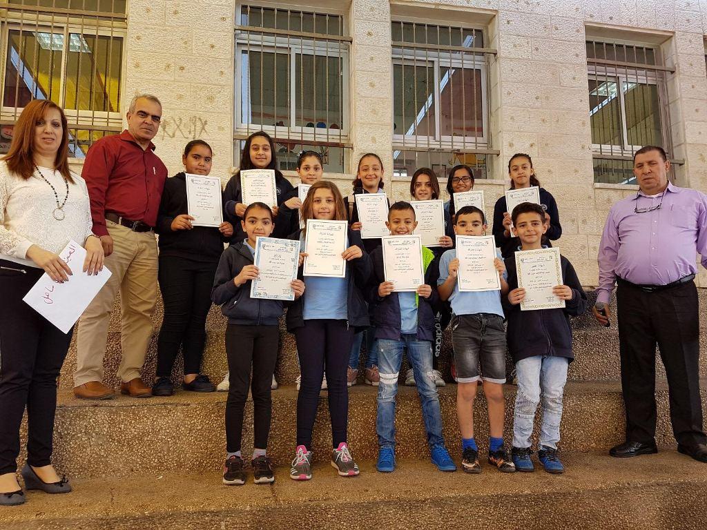 تقرير وصور تكريم الطلاب الفائزين ببطولة اللغة الانجليزية القطرية الثامنة عشرة
