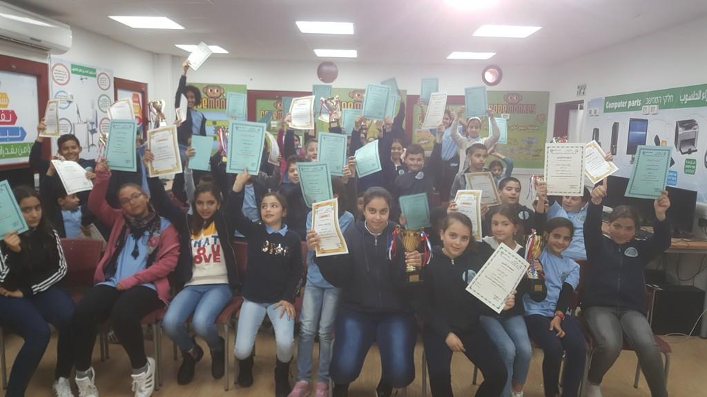 جَمعيَّة إبداع تُكرِّمُ الفائزين في مُسابقة اللُّغة الإنجليزيَّة القُطريَّة التَّاسعة عشرة بالتَّعاون مع المدارس المُشاركة