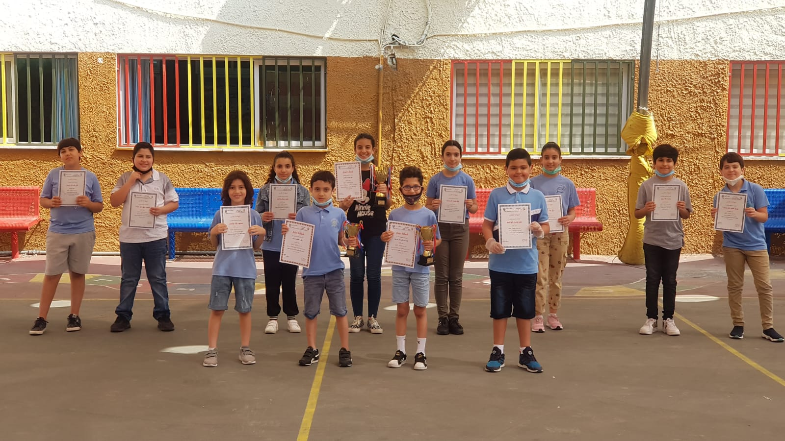 جَمعيَّةُ إبداع تُكرِّمُ الفائزينَ في مُسابقَةِ اللُّغَةِ العَربيَّةِ القُطريَّةِ الحادية عَشرة بالتَّعاونِ مَع المدارسِ المشاركة