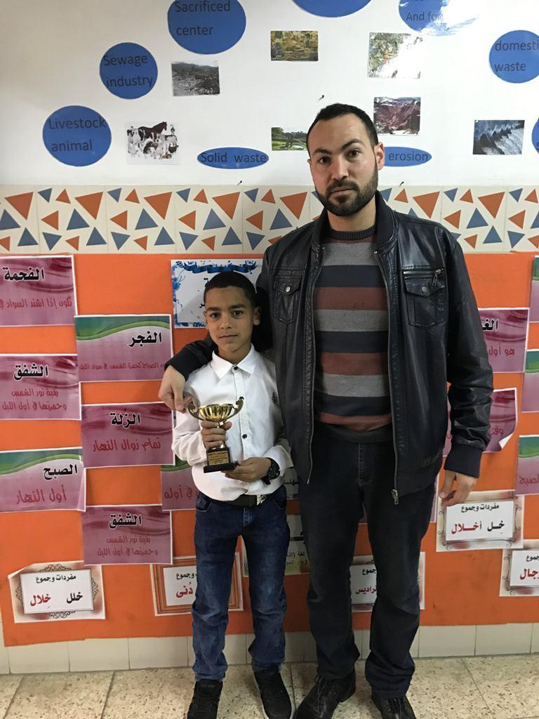 تكريم الفائزين ببطولة اللغة الاجليزية السابعة عشرة