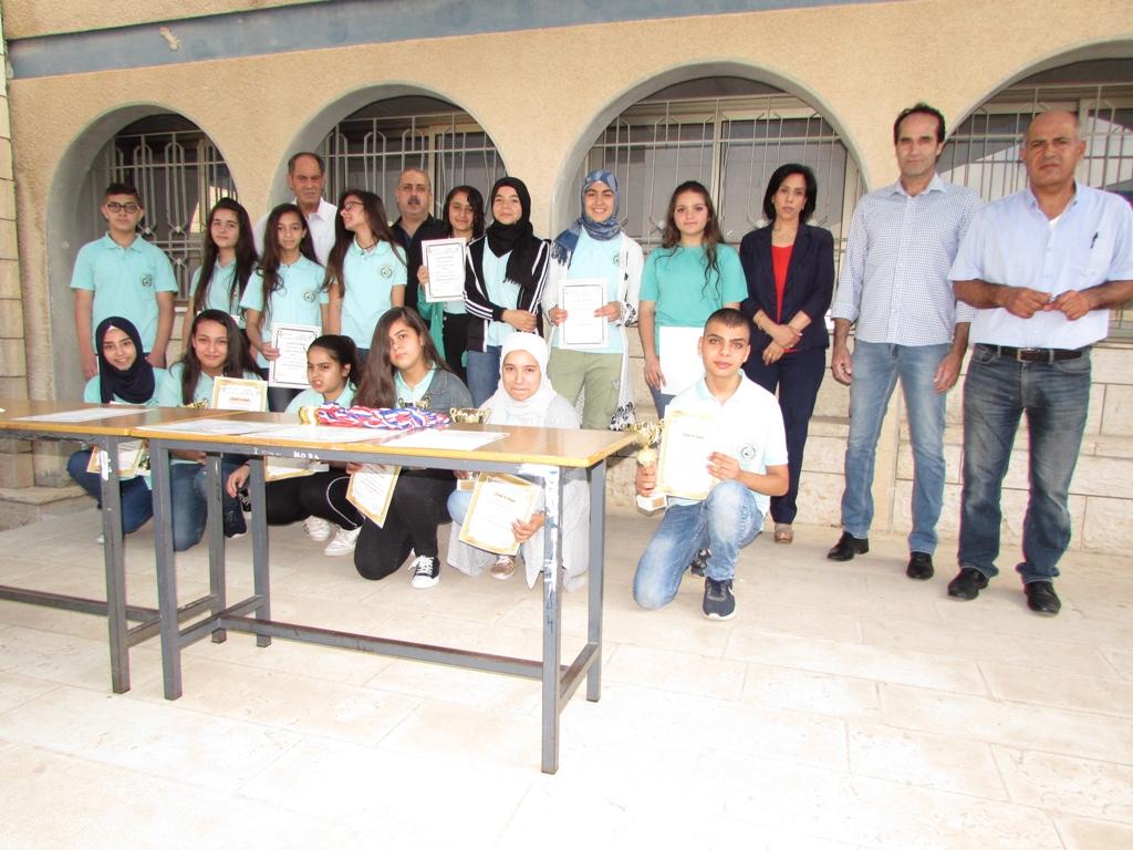 تقرير وصور تكريم الطلاب الفائزين ببطولة اللغة العربية القطرية التاسعة