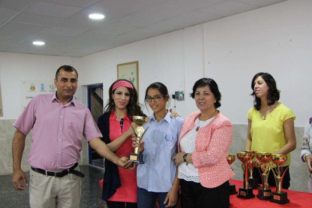 تقرير وصور تكريم الطلاب الفائزين ببطولة اللغة العربية القطرية الثامنة