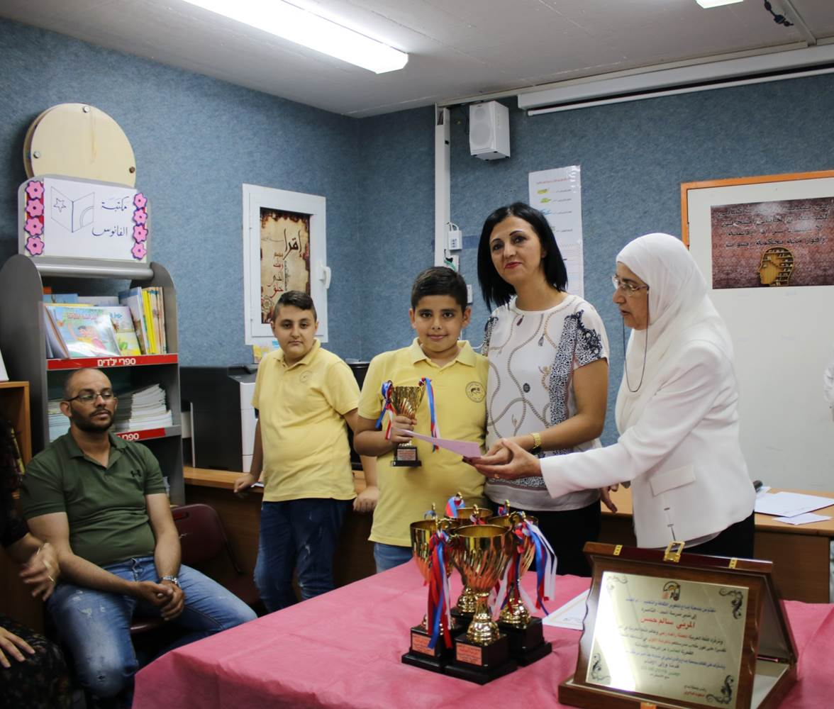 جَمعيَّة إبداع تُكرِّم الفائزين في مُسابقة اللُّغة العَربيَّة القُطريَّة العاشرة بالتَّعاون مع المدارس المشاركة